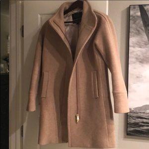 Jcrew Stadium Cloth Coat - 6 Camel Color